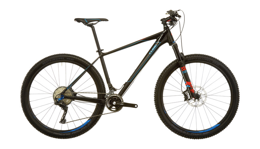 Cube Reaction HPA SL 2x MTB Hardtail blå/svart